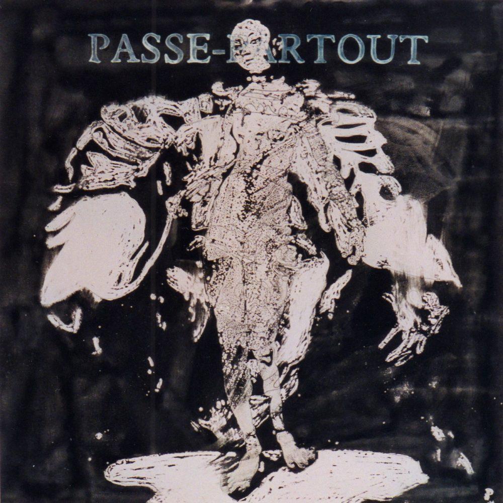 Passe-Partout. 1995, mixed media on paper, 60x60cm