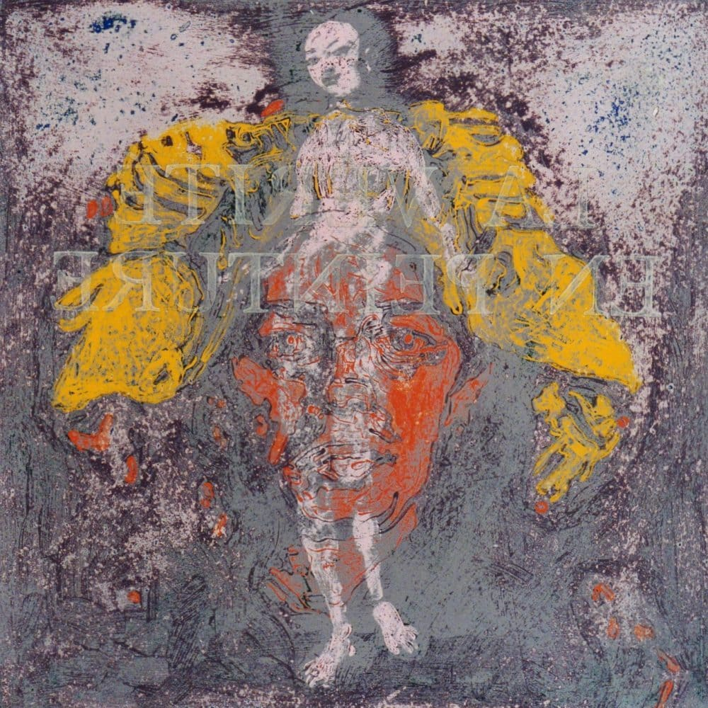 La Verité en Peinture. 1965, acrylic on paper, 60x60cm.